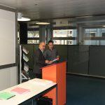 Remise du prix de l'APFC à M. Florian Brotschi avec une note de 5,83