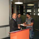 Remise du prix de l'APFC à M. Raphaël Neukomm avec une note de 5,83