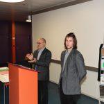 Remise du prix de l'APFC à M. Michaël Rais avec une note de 5,58